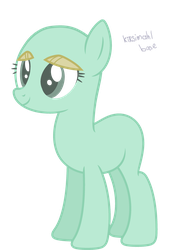mlp base earth pony by kirsimahlpony