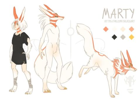 Marty reference sheet by Talkis