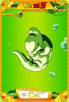 Dragon Ball Z - Larval Form Cell by DBCProject