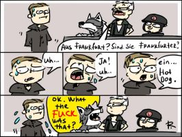 Wolfenstein: The New Order, doodles 10 by Ayej