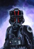 Elite pilot of the First Order by grim1978