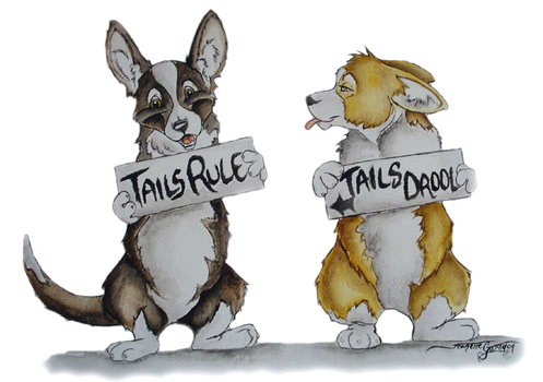 Tails Rule Tails Drool by Ashwin24