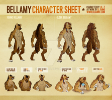 Reference Sheet Commission - Bellamy by elranno