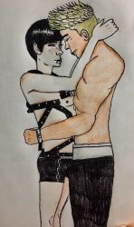 Kyle and Aiden by ChuckyAndy