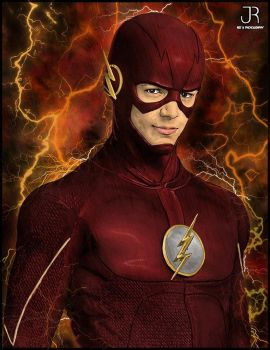 The Flash by SpideyVille