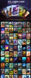 TCG Cards Pack by GraphicAssets