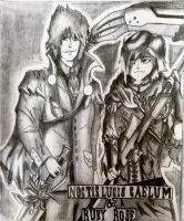 King Noctis and Queen Ruby || RWBY/FFXV by WutisGoodinDaHood