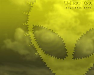 Yet Another Yellow Day Wallie by isecore
