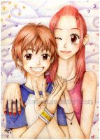 Otani and Risa by SpringSounds