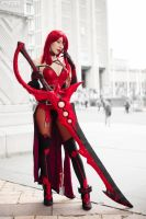 Elesis Crimson Avenger Cosplay #11 by DmC - PGB by DrawMeaCosplay