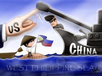 The Spratlys - China vs Philippines Issue by Fordz-Anims