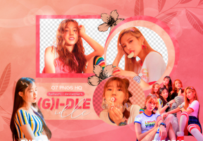 PNG PACK: (G)I-DLE #4 by Hallyumi