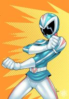 Sentai Girl colored by ragelion