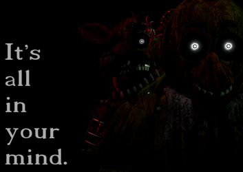 SFM FNAF 3 It's all in your mind. by AntonioRodriguez1000