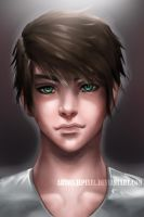 Male portrait by JePixel