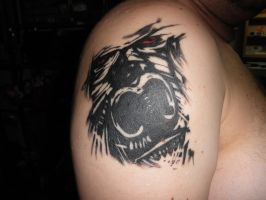 Gorilla Tattoo by MCnVegas