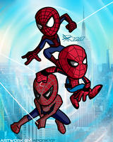 Spider-Verse by mporkyp