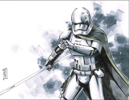 Captain Phasma by Hodges-Art