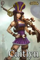 Caitlyn - League Of Legends by UmbraDesigns