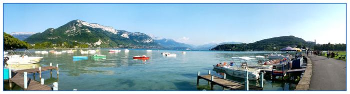 Annecy Lake Of France by epuscasu