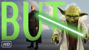 Thumbnail for Yoda VS Count Dooku lightsaber duel by BUTchannel