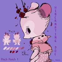 pinch ponch DTA / Hibernating Doe [ENDS TOMORROW!] by goosetooth