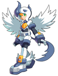 Commission: Roll and Mega Absol Fusion by ultimatemaverickx