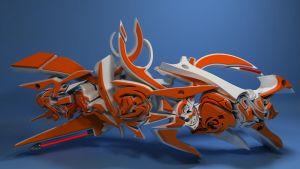GIBSON 3D GRAFFITI by anhpham88