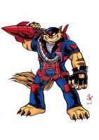 T Bone Swat Kats by MIRRORMASTER