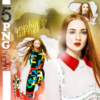 Sophie Turner PNG Pack by alwayssleep