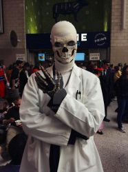 Dr. Gaster at London MCM Comic Con 2016 by KaleiC