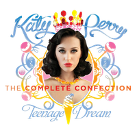 Katy Perry T.D.T.C.C. ALBUM PNG (FULL HD) by danperrybluepink