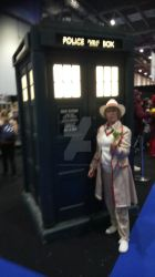 The Doctor with the Tardis by Londonexpofan