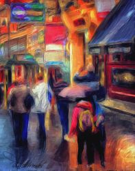 Walking in Chinatown - I by rgmendes