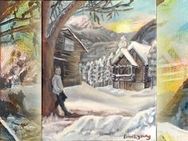 Sonnet of Snow Wallpaper by Sketchee
