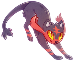 litten kitten. by awkwaard