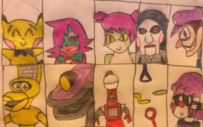 The Unchangeable Roster by Screaming-Sheldon