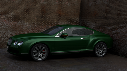 Bentley Continental GT by GrahamSym