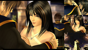 Squall and Rinoa 2 by AuraIan