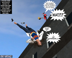 Linda Danvers becomes Supergirl Falling TF 1a by mercblue22