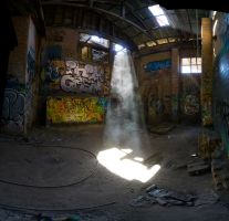 Lighshaft, Box Hill brickworks. by thespook