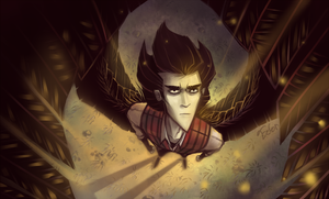 Don't Starve Wallpaper - Golden Dusk by Ecfor