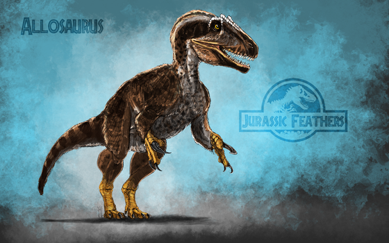 Allo jurassic feathers by epic3d