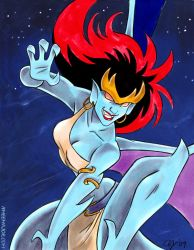 Gargoyles - Demona by aimeekitty