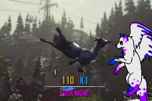 When Goats Fly by KeKitty