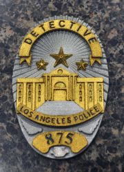L.A. Noire Badge by Soynuts