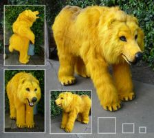 Golden bear 3 by LilleahWest