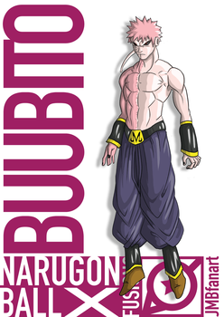 Buubito Unmasked/Uncloaked (Buu and Obito fusion) by JMBfanart