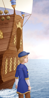 Thomas On The Dock by Agent505