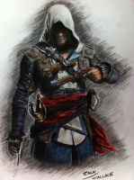 Assassin's Creed 4: Black Flag - Edward Kenway by Hybrid-Theory101
